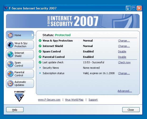 Скачать бесплатно - F-Secure Internet Security 2011 10.51 Версия для печати
